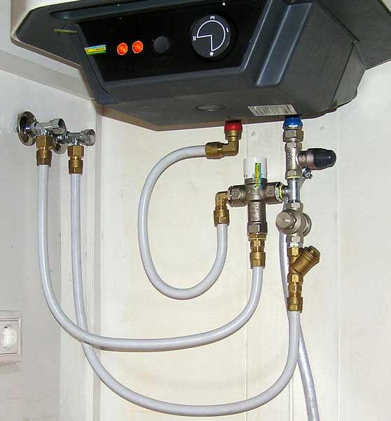 Подключение электрического водонагревателя в Минске - osn.by
